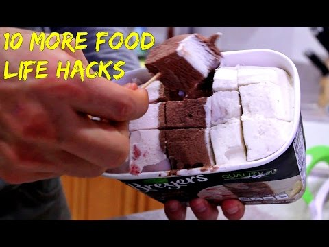 10 Food Life Hacks You Must Know!