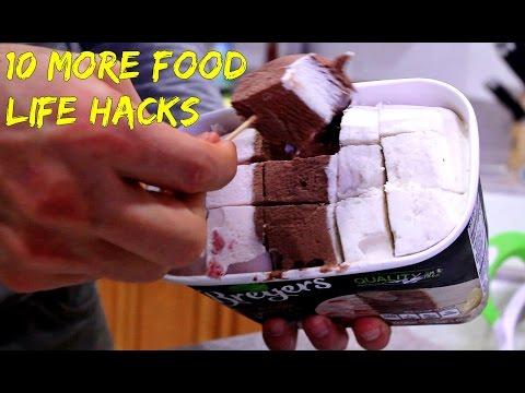 10 Food Life Hacks (видео)