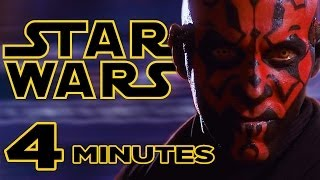 I take you through the entire first STAR WARS film in less than 4 minutes! Follow me on Twitter here: https://twitter.com/thebobbyburns Business Inquires Contact: ...