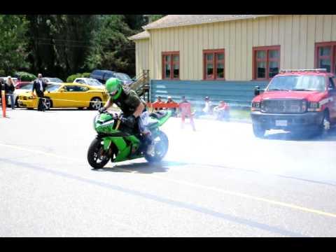 5th Gear Motorcycle Stunt Team Warm-ups