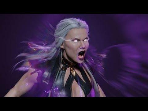 Sindel - All Banshee Screams & Fights Scenes [Compilation](Mortal Kombat)