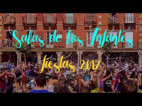 SALAS DE LOS INFANTES: FIESTAS 2017