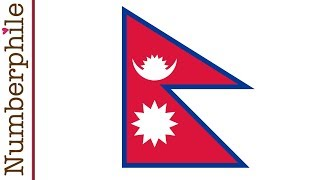Nepal Flag - The Most Mathematical Flag