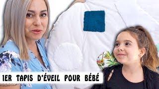 PREMIER TAPIS D'ÉVEIL pour Bébé ❤️ / DIY