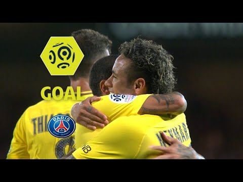 Goal NEYMAR JR (82') / EA Guingamp - Paris Saint-Germain (0-3) / 2017-18