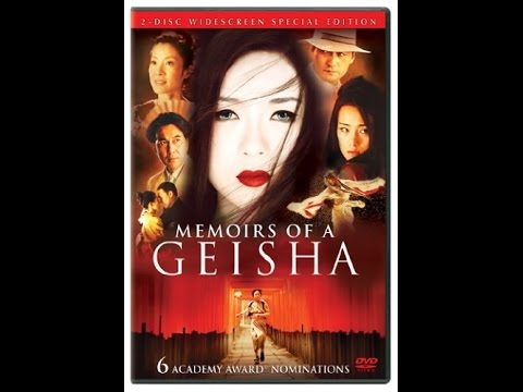 Previews From Memoirs Of A Geisha 2006 DVD