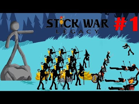 Stick War: Legacy Endless Deads Part 1 (by Max Games Studios) / Android Gameplay HD