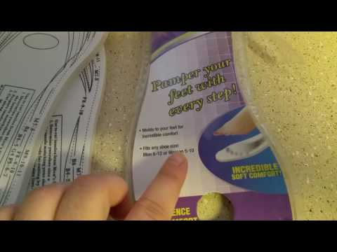 Dollar tree product review and info on foot insoles!