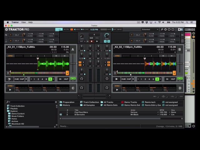 Ableton Link Traktor 2.11 Tutorial Parte 3 Internal Routing