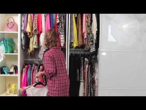 closet - Thumbs up if you liked this video! Blog post with more information and pictures: http://dulcecandy.com/2013/08/candys-closet-organizing-my-clothes.html PS: L...