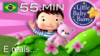 Os melhores vídeos educativos no YouTube - belíssima e colorida animação 3D em fantástico HD! Grande compilação da LBB! Agora disponível para compra/descargahttps://bamazoo.com/littlebabybumbrazilBrinquedos: http://littlebabybum.com/shop/plush-toys/© El Bebe Productions Limited00:04 Meu Ursinho, Meu Ursinho01:51 As rodas do ônibus - Versão 103:45 Um, dois. Aperte o sapato04:50 Uma Batata06:46 Dez Pequenos Ônibus09:02 Cinco Macaquinhos - Versão 211:15 Vou vou vou remando - Versão 213:55 Uma marinheira foi para o mar15:35 A canção do ABC17:33 Mé, mé, ovelha negra - Versão 118:26 As rodas do ônibus - Versão 420:18 O Urso Subiu a Montanha22:08 BINGO24:05 A Família dos Dedos - A Família Panda26:07 A Canção de Vestir27:38 12345 Eu peguei um peixe vivo28:57 Cabeça, Ombros, Joelho e Pé - Versão 231:33 Canção do Zoo33:26 Hey Diddle Diddle35:39 Três Gatinhos37:56 Pães Quentinhos39:13 Tema LittleBabyBum40:30 Pequena Bo Peep41:52 Seis Patinhos43:46 Girando à volta da amoreira45:29 Seu MacDonald tinha um sítio - Versão 247:45 Canção do Troninho49:06 Canção Atravessando a Estrada50:57 O velhinho53:46 Brilha Brilha Estrelinha - Versão 4 Hong Kong