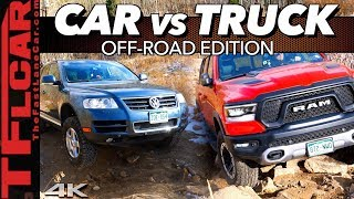 Car or Truck - What's Better Off-Road? Hint: Only One Makes It Up Cliffhanger 2.0! by The Fast Lane Car
