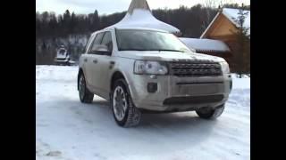 Партизанский тест-драйв Land Rover Freelander 2