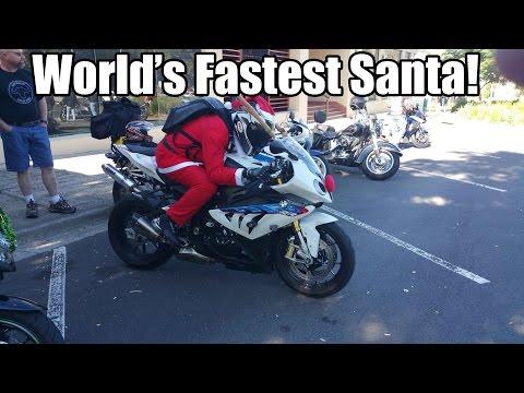 ToyRun 2014 World's Fastest Santa!