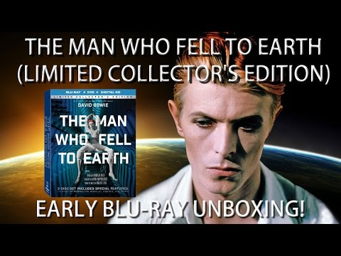 The Man Who Fell To Earth (Limited Collector's Edition) - EARLY BLU RAY UNBOXING!
