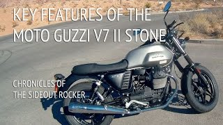 10. Key Features of The Moto Guzzi V7 II Stone