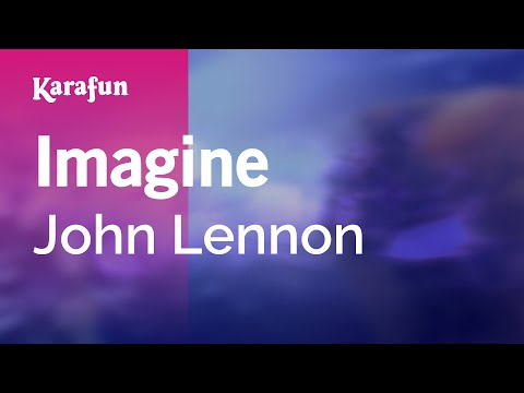 Karaoke Imagine - John Lennon *