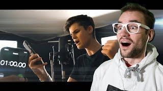 Video 400 WORTE in 1 MINUTE!! (Rap-Challenge von Simon Will) | Oskar | REACTION MP3, 3GP, MP4, WEBM, AVI, FLV Mei 2018