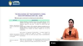 UTPL EL AIRE [(GESTIÓN AMBIENTAL)(TECNOLOGÍAS LIMPIAS Y ALTERNATIVAS)]