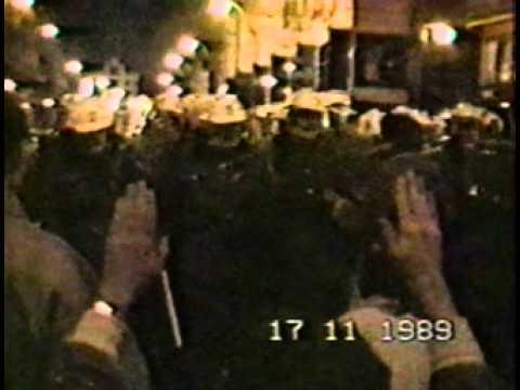 17. november 1989 v Prahe
