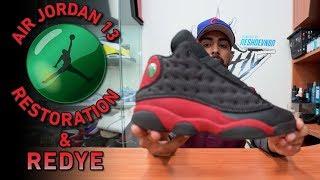 Video Nike Air Jordan Bred 13s Restoration (Cleaning, Suede ReDye & More) MP3, 3GP, MP4, WEBM, AVI, FLV Maret 2019