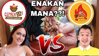 Video AYAMNYA KOK MENTAH??? ENAKAN MANA?? GEPREK SAY VS GEPREK BENSU!! MP3, 3GP, MP4, WEBM, AVI, FLV November 2018