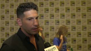 Jon Bernthal (Marvel's The Punisher, The Defenders) shares his favorite fan encounters and the gifts from American service men and women that have impacted him.
