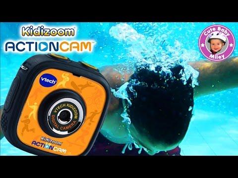 Kidizoom Action Cam von VTech im Test - Produktvorstellung Review - Kinderkanal
