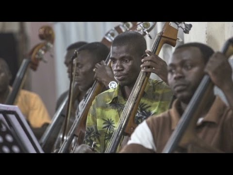 Hope - One of Africa's first symphony orchestras, born from conflict, is giving the healing gift of music.