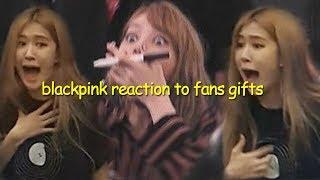 Video blackpink cute reaction to blink's gifts MP3, 3GP, MP4, WEBM, AVI, FLV Agustus 2019