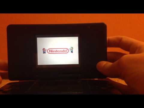 Playing GBA games on the Nintendo DS