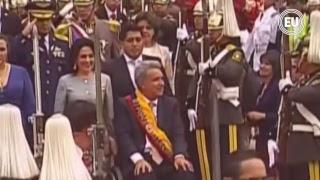 Posesión de Lenín Moreno como Presidente de Ecuador