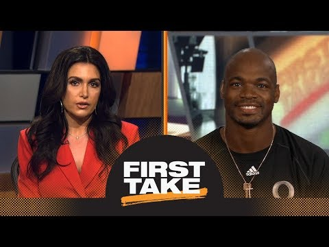 Adrian Peterson talks Le'Veon Bell, Saquon Barkley and Kirk Cousins | First Take | ESPN