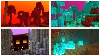 All About the NETHER BIOMES in the 1.16 Minecraft Nether Update