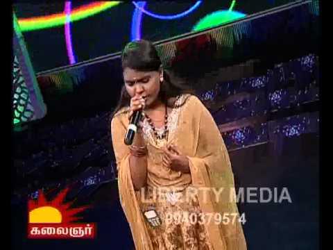 Isai Medai kalaignar tv Aathadi manasudhan Divya