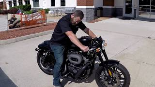 4. HARLEY DAVIDSON ROADSTER VANCE AND HINES SHORT SHOT EXHAUST