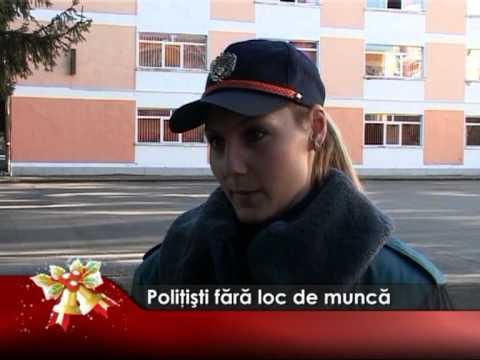 Poliţişti fără loc de muncă