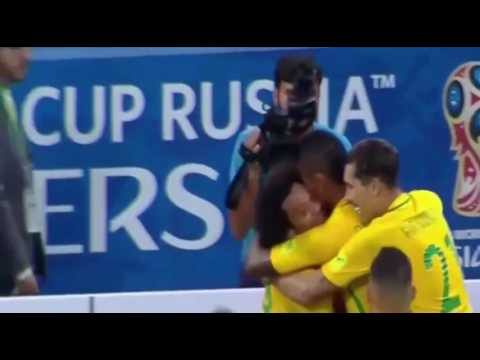 Brazil vs Paraguay 3-0 - Highlights- WC qualification South America- 29 March 2017