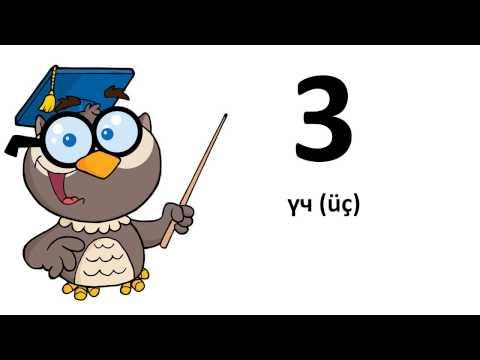 kirgisische lernen # Von 0 bis 9