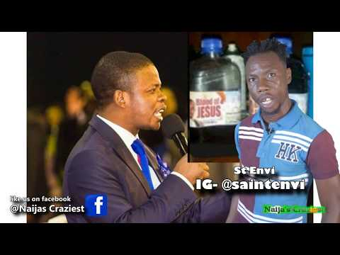"""Prophet Bushiri """"Sells The Blood Of Jesus In Plastic Containers"""" To Members"""