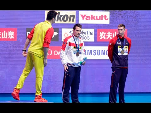 Second Swimmer Protests Sun Yang At World Championships