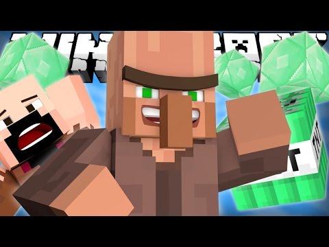 Если бы ЖИТЕЛИ захватили МАЙНКРАФТ - Minecraft machinima (видео)