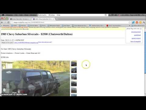 Craigslist cleveland georgia used cars trucks and vans for sale