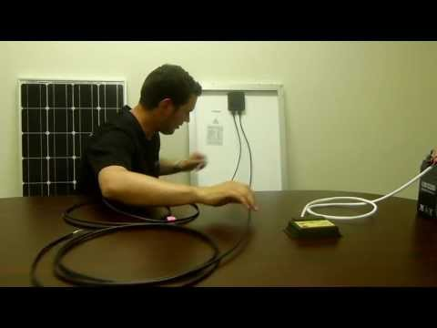 Renogy: 100 Watt Starter Kit Solar Panel Installation Guide