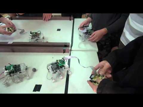 樂學網線上補習-思頂機器人-好奇號足球賽