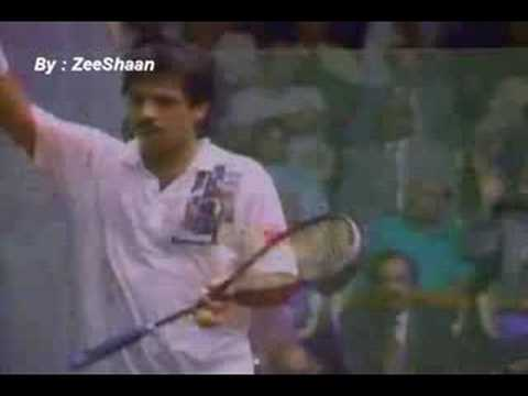 SQUASH – Jahangir and Jansher Khan – the two 'Lords' of Squash