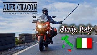 Sicily Italy on a Versys 1000 and 650