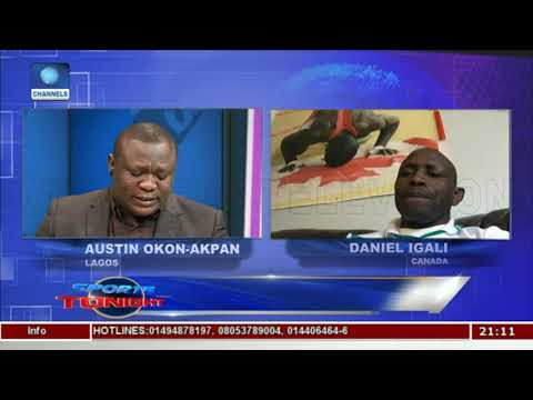 Daniel Igali Speaks On Developments In Nigeria Wrestling  Sports Tonight 