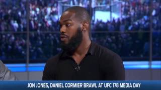 Video Jon Jones and Daniel Cormier Join FOX Sports Live   UNCUT MP3, 3GP, MP4, WEBM, AVI, FLV Februari 2019