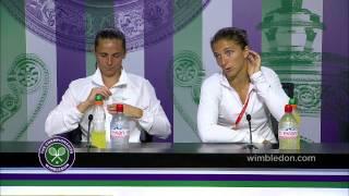 Sara Errani&Roberta Vinci Post Final Press Conference